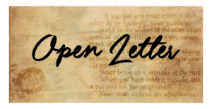 An Open Letter to the Universal House of Justice.